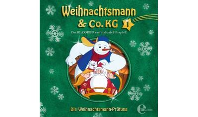 Musik-CD »(1)Original HSP TV-Die Weihnachtsmann-Prüfung / Weihnachtsmann & Co.KG« kaufen