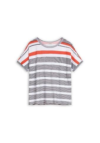 Sandwich Oversized T-Shirt mit Streifen kaufen