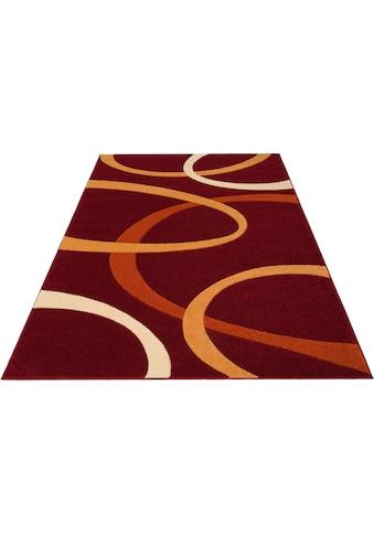 my home Teppich »Bill«, rechteckig, 10 mm Höhe, mit Handgearbeiteten Konturenschnitt, Wohnzimmer kaufen