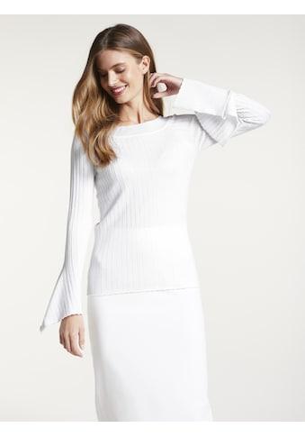 Pullover mit ausgestellten Ärmeln kaufen