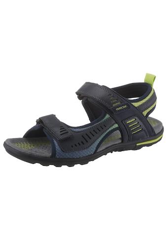Geox Sandale »TEVERE«, mit praktischen Klettverschlüssen kaufen