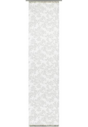 GARDINIA Schiebegardine »Flächenvorhang Stoff Rispe mit weißen Paneelwagen«, HxB: 245x60 kaufen