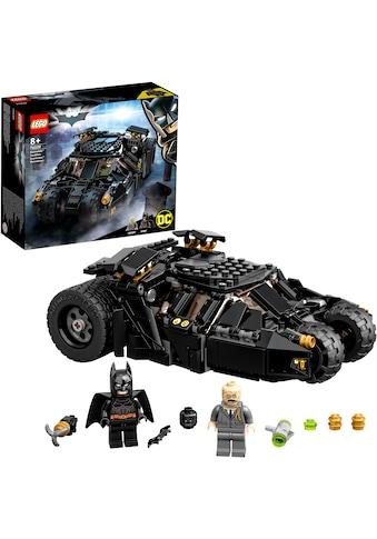 LEGO® Konstruktionsspielsteine »Batmobile™ Tumbler: Duell mit Scarecrow™, LEGO® DC... kaufen