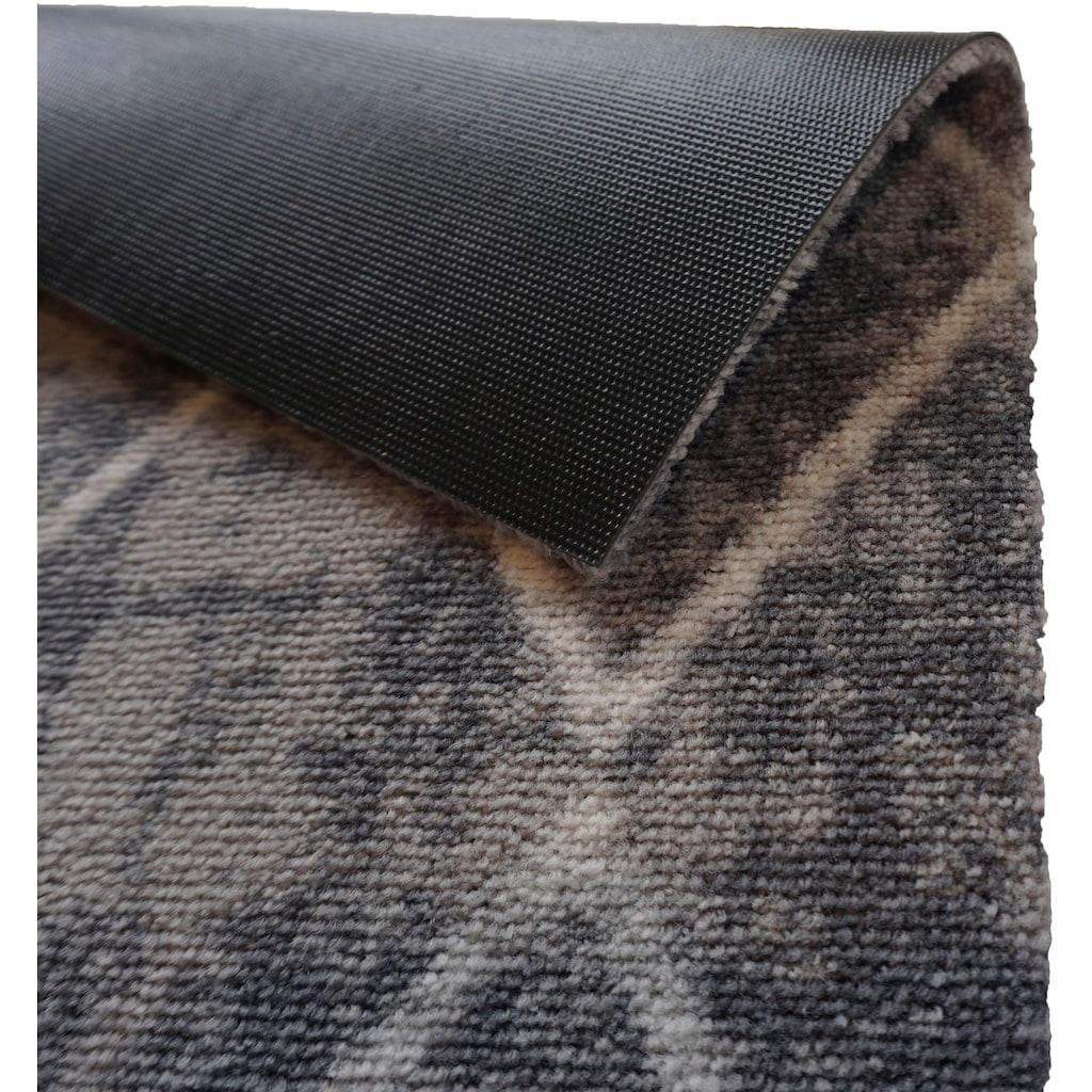 ASTRA Fußmatte »Miabella 1669«, rechteckig, 7 mm Höhe, Fussabstreifer, Fussabtreter, Schmutzfangläufer, Schmutzfangmatte, Schmutzfangteppich, Schmutzmatte, Türmatte, Türvorleger, Rauten Design, In -und Outdoor geeignet