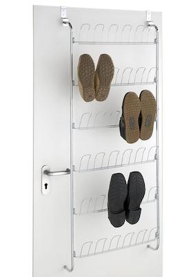 platzsparendes Schuhregal zum Aufhängen an der Tür