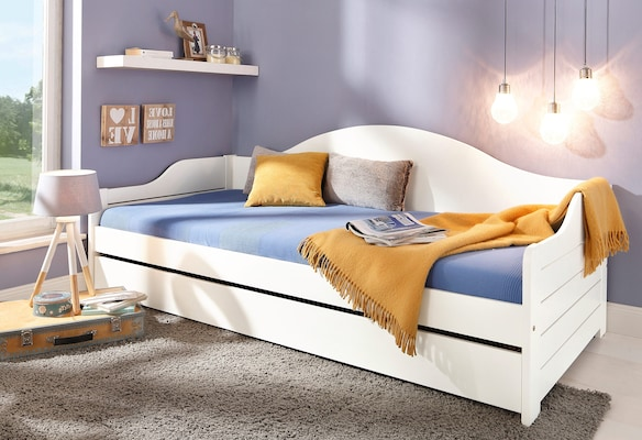 Tagesbett in Weiß
