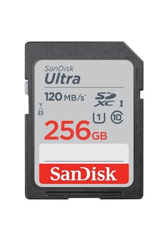 Sandisk Speicherkarte, ( Class 10 ), SDXC Ultra 256GB (Class 10/UHS-I/120MB/s) kaufen