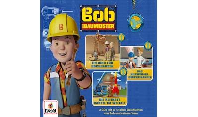 Musik-CD »04/3er Box (Folgen 10,11,12) / Bob der Baumeister« kaufen