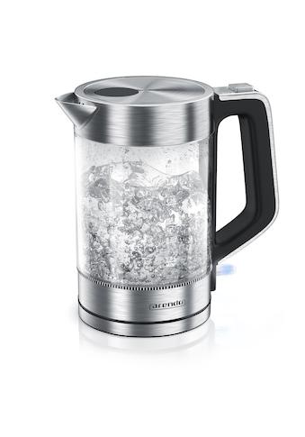 Arendo Edelstahl Glas Wasserkocher, 1,7 Liter, 2200W, Cool-Touch-Griff kaufen