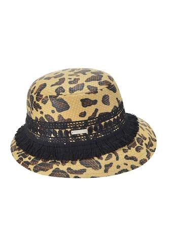 Seeberger Strohhut »Glocke mit Leoparden Muster 54682 - 0« kaufen