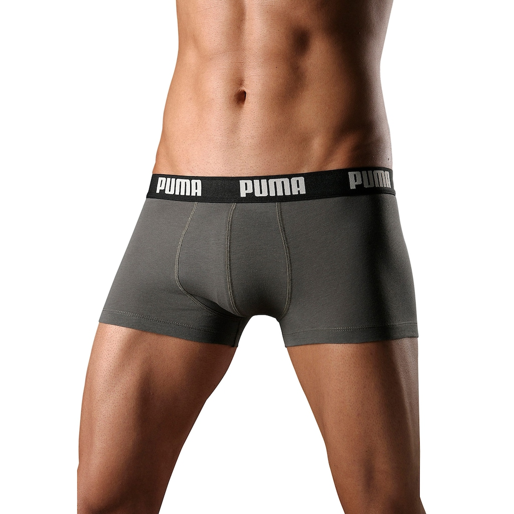 PUMA Hipster, mit Logoschriftzug auf breitem Bund