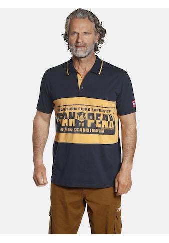 Jan Vanderstorm Poloshirt »WERNHARD«, aus luftigem Baumwoll-Pikee kaufen