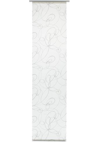 GARDINIA Schiebegardine »Flächenvorhang Stoff Curling mit weißen Paneelwagen«, HxB:... kaufen