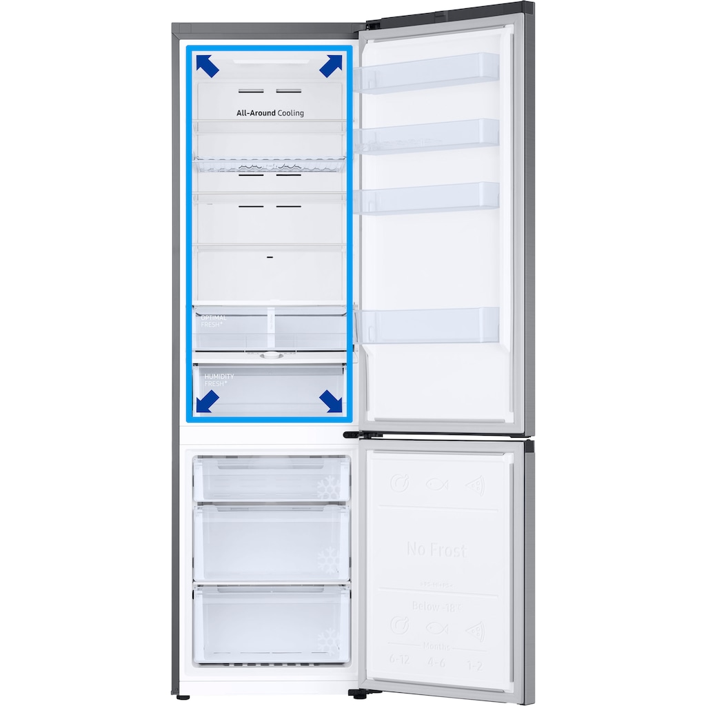 Samsung Kühl-/Gefrierkombination »RL38T671DSA/EG«
