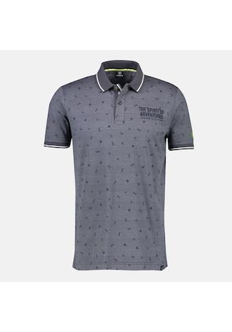 LERROS Poloshirt, mit Minimalstreifen und Print kaufen
