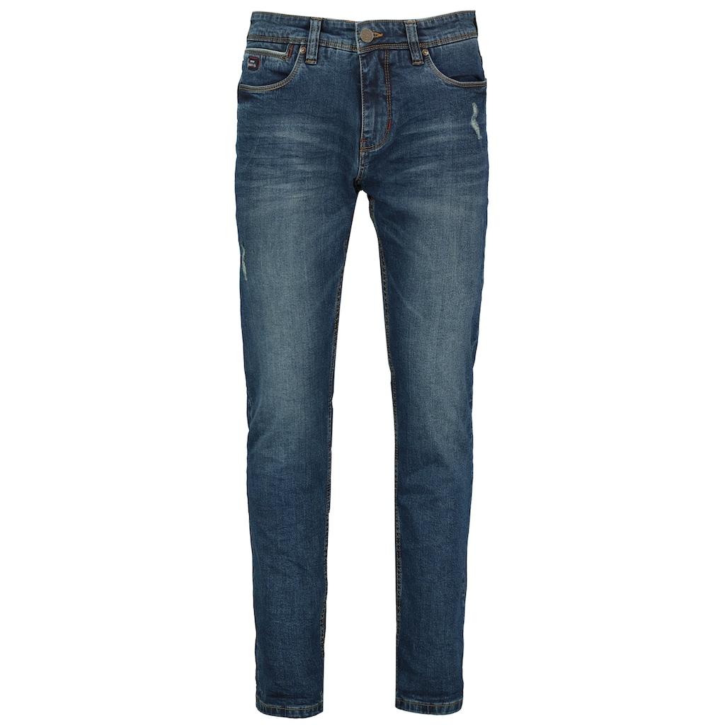 SUBLEVEL Slim-fit-Jeans, im Used Look