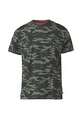 Duke Clothing T-Shirt »Herren Gaston mit Tarnmuster, Kingsize« kaufen