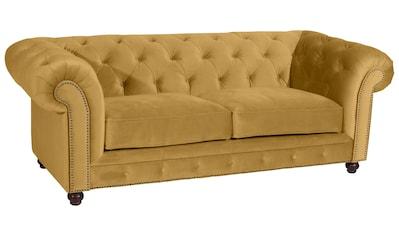 Max Winzer® Chesterfield-Sofa »Old England«, im Retrolook, Breite 218 cm kaufen