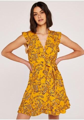 Apricot Druckkleid »Sarasa Ditsy Dress«, (mit Bindegürtel), mit Rüschen kaufen