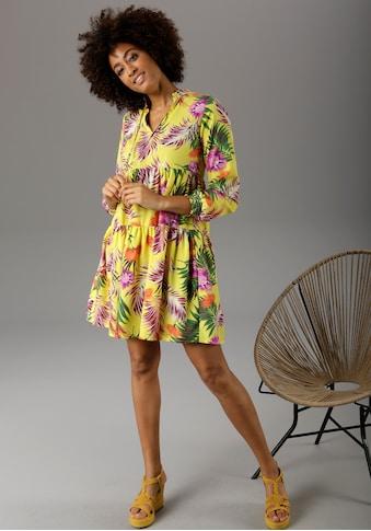 Aniston CASUAL Sommerkleid, mit Dschungel-Print - NEUE KOLLEKTION kaufen