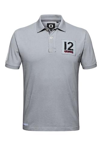 CODE-ZERO Poloshirt »12M Classic Polo«, mit Knöpfen kaufen