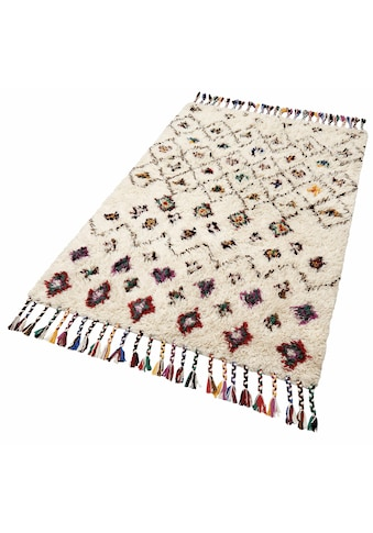 THEKO Orientteppich »Nomadic 1«, rechteckig, 20 mm Höhe, reine Wolle, handgewebt,... kaufen