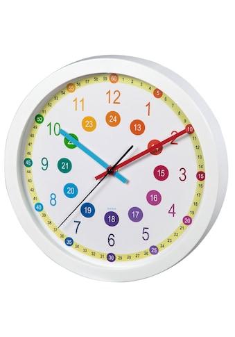 "Hama Kinder - Wanduhr ""Easy Learning"", Durchmesser 30 cm »Uhr geräuscharm« kaufen"