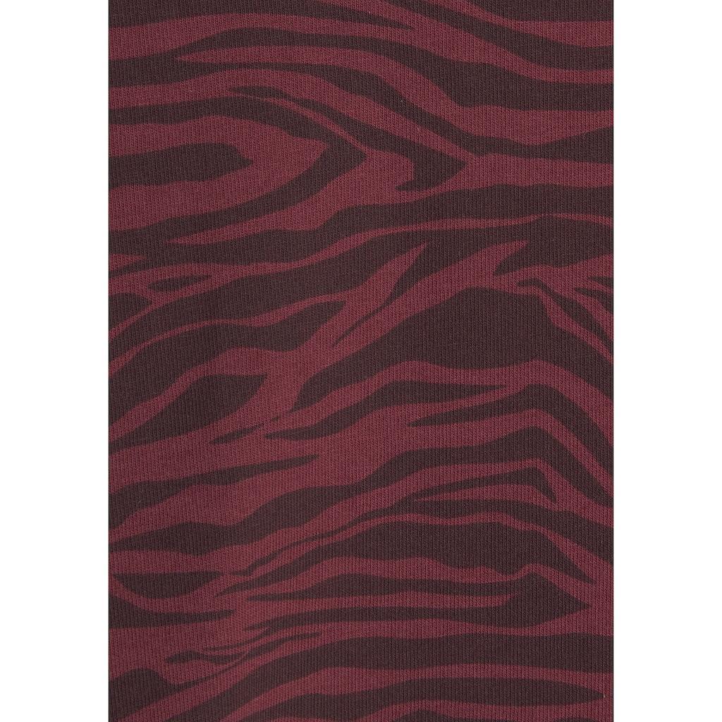 s.Oliver Sleepshirt, mit Animal-Print