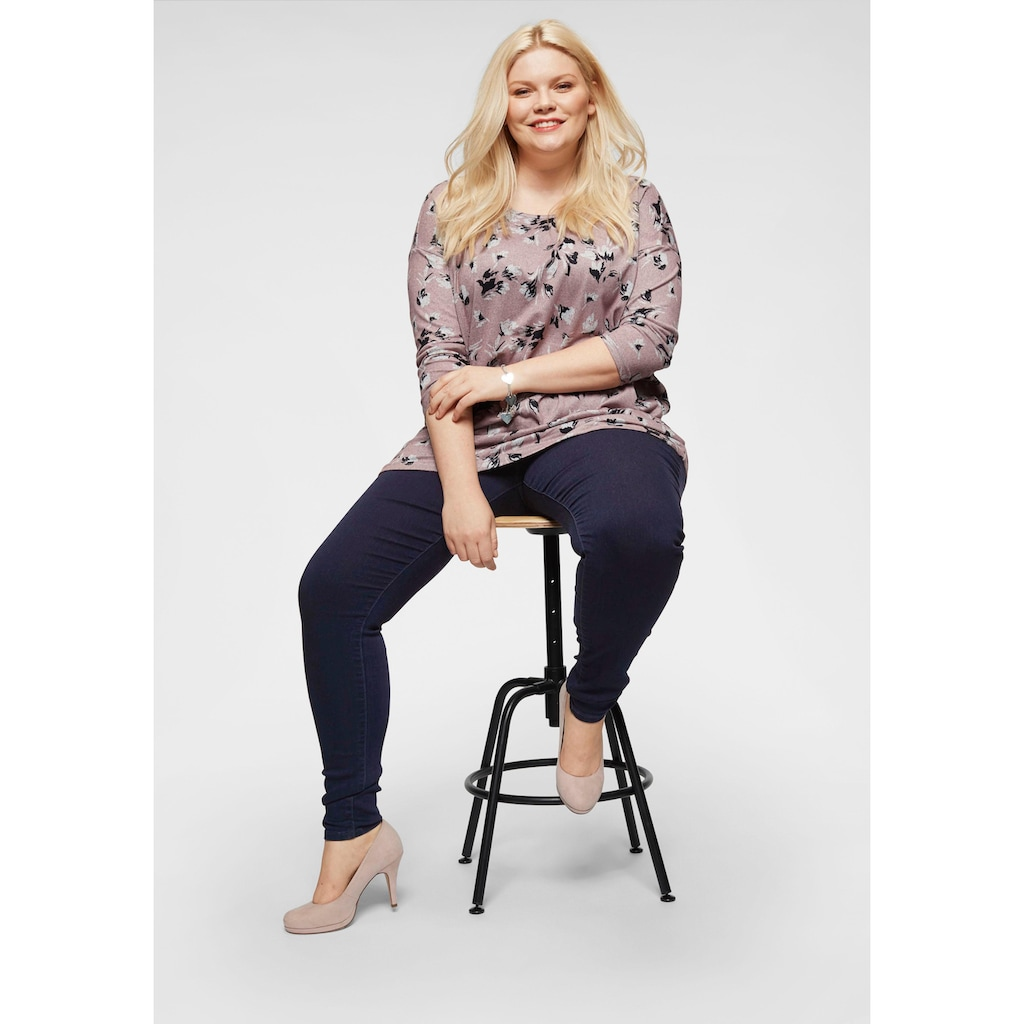 ONLY CARMAKOMA Jeansjeggings »Thunder«, Mid Waist