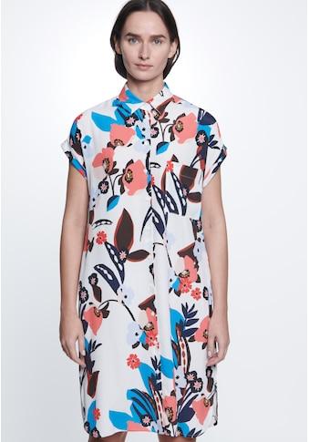 seidensticker Sommerkleid »Schwarze Rose«, Ohne Arm Kragen Floral kaufen