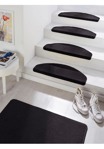HANSE Home Stufenmatte »Fancy«, halbrund, 7 mm Höhe, große Farbauswahl, 15 Stück in... kaufen
