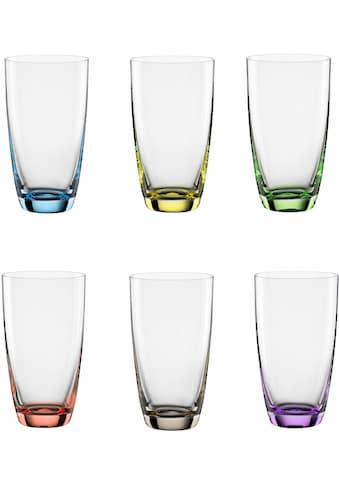 "BOHEMIA SELECTION Longdrinkglas ""VIVA COLORI"" (6 - tlg.) kaufen"
