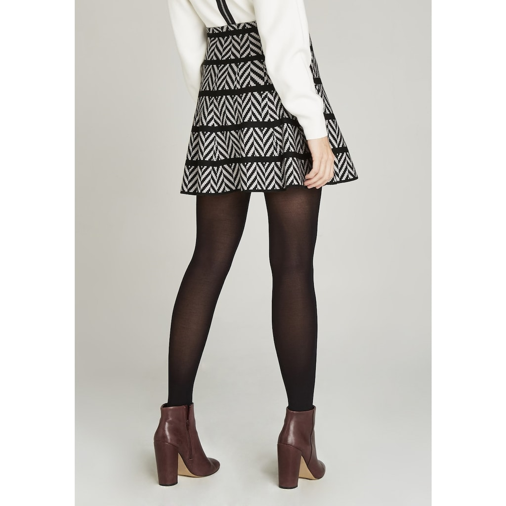 Apricot Strickrock »Chevron Flair Knit Skirt«, im Chevron-Design