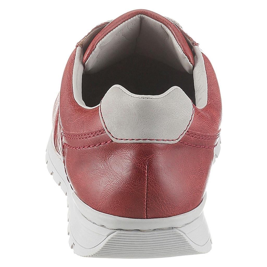 Rieker Sneaker, mit Profillaufsohle