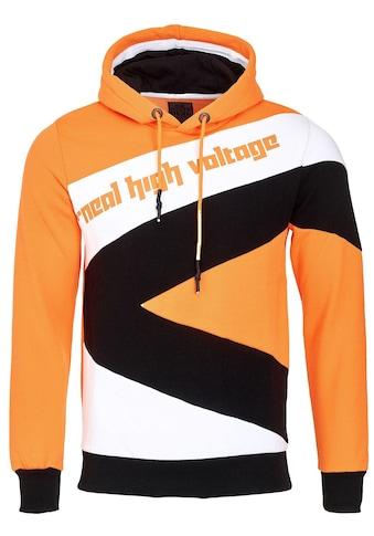 Rusty Neal Kapuzensweatshirt, mit modischen Kontrasten kaufen