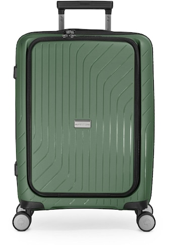 "Hauptstadtkoffer Hartschalen - Trolley ""TXL, 55 cm, dunkelgrün"", 4 Rollen kaufen"