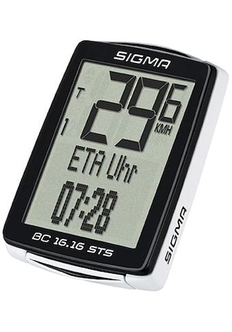 SIGMA SPORT Fahrradcomputer »BC 16.16 STS«, kabellos kaufen