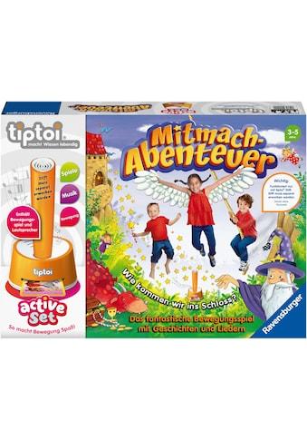 """Ravensburger Spiel, """"tiptoi® active, Mitmach - Abenteuer"""" kaufen"""