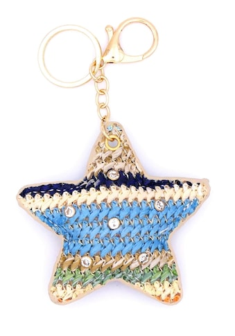 J.Jayz Schlüsselanhänger »Stern multicolor, vergoldet« kaufen