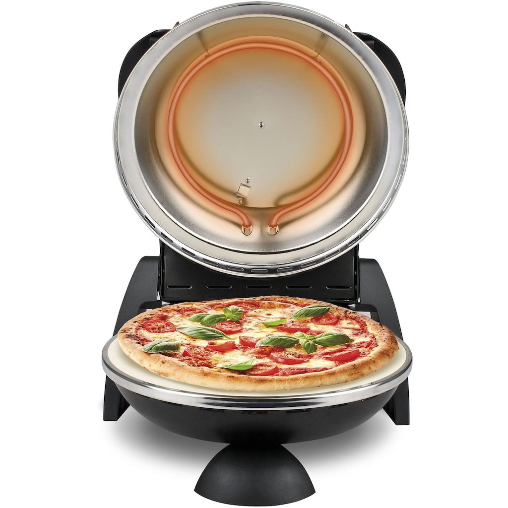 G3Ferrari Pizzaofen »G1000610 Delizia schwarz«, Grill, 1200 W