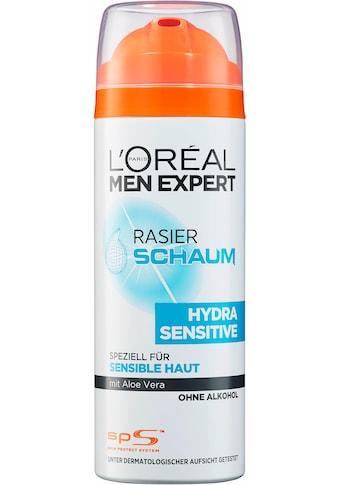 L'ORÉAL PARIS MEN EXPERT Rasierschaum »Hydra Sensitive«, pflegt sensible Haut während & nach der Rasur kaufen