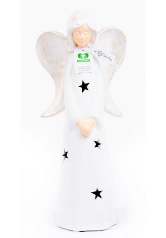 VALENTINO Wohnideen LED Dekofigur »Engel Marley«, Warmweiß, Höhe ca. 30 cm kaufen