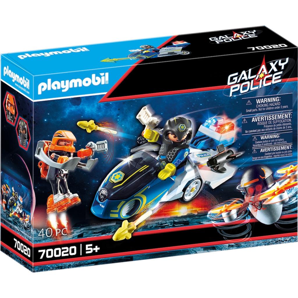 Playmobil® Konstruktions-Spielset »Galaxy Police-Bike (70020), Galaxy Police«, (40 St.), Made in Europe