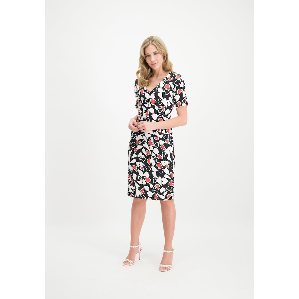 Nicowa Midi-Kleid CLEOIWA mit liebevollem Herzmuster