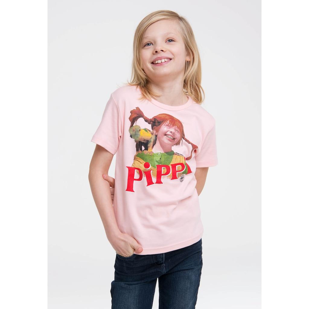 LOGOSHIRT T-Shirt, mit Pippi Langstrumpf-Frontdruck