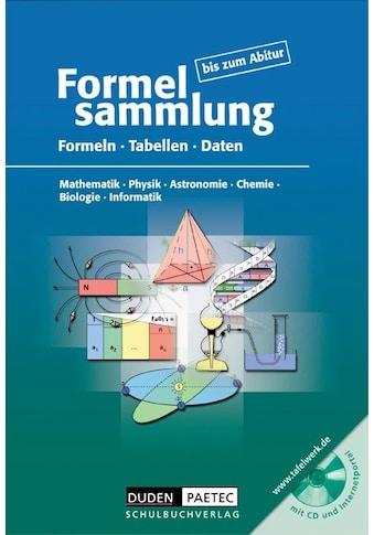 Buch »Formelsammlung bis zum Abitur - Mathematik - Physik - Astronomie... /... kaufen