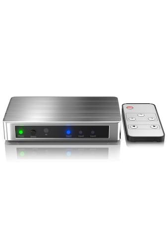 Primewire 3 - Port UHD 4k HDMI Switch inkl. Fernbedienung »3x HDMI Eingänge / Alu Gehäuse« kaufen