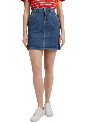 Esprit Jeansrock, mit kleinen Falten am Bündchen kaufen
