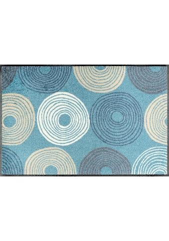 wash+dry by Kleen-Tex Fußmatte »Cyclone«, rechteckig, 7 mm Höhe, Fussabstreifer,... kaufen
