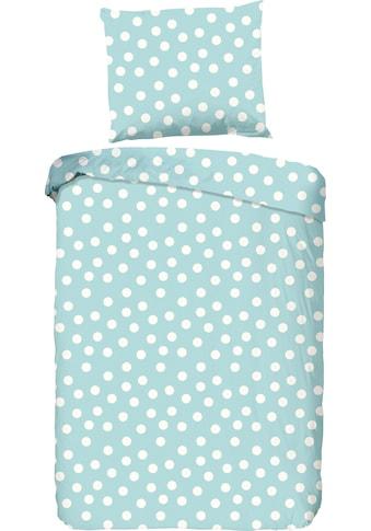 good morning Kinderbettwäsche »Dots«, mit Punkten kaufen
